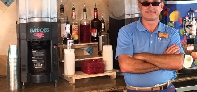 Employee Spotlight: Ray Emer, Lead Pool Bar Bartender