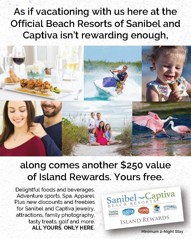 Sanibel Captiva Beach Resorts Island Rewards