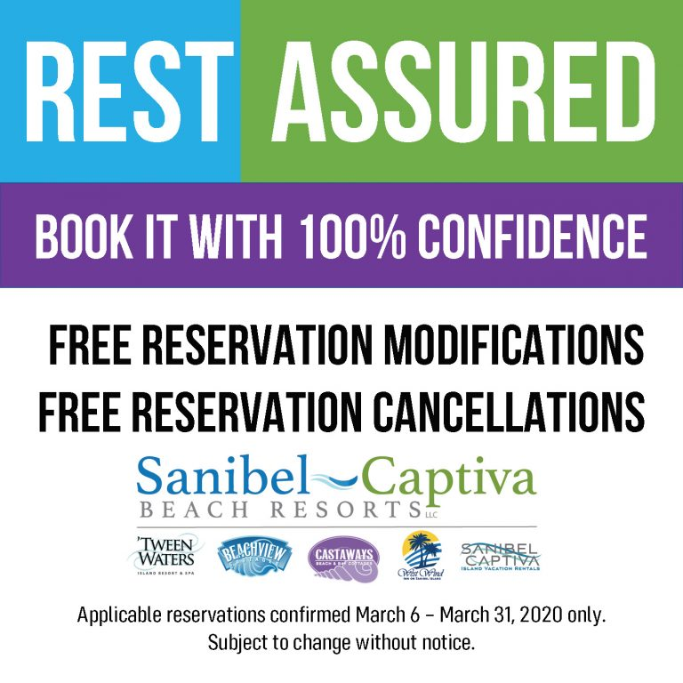 sanibel captiva beach resorts rest assured
